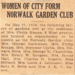 1924 News clipping