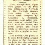 July 1935 Signage